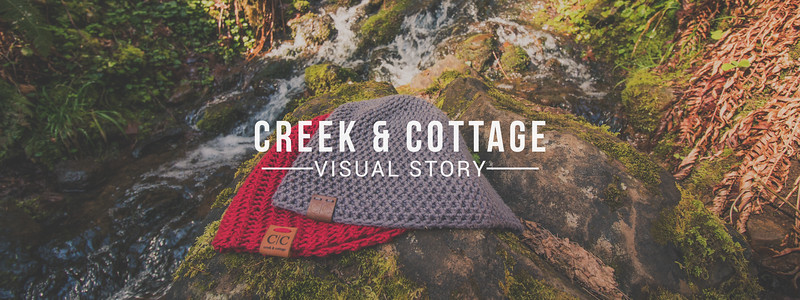 Creek And Cottage Visual Story