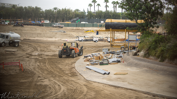 Disneyland Resort, Disneyland, Frontierland, Critter Country, Rivers, River, Star Wars Land, Construction