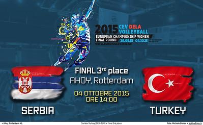 Finale 3º posto Serbia - Turchia | SER-TUR Final 3rd place