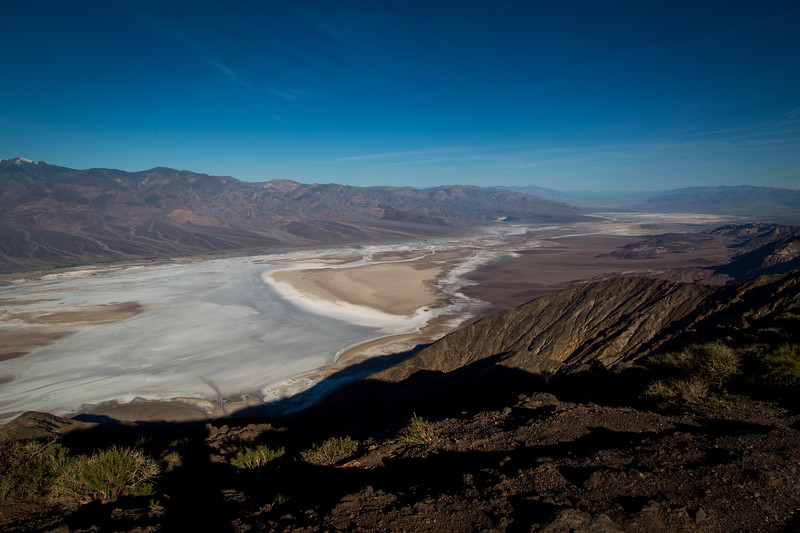 Badwater Basin from Dante's View