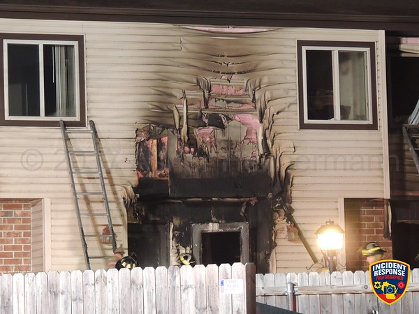 Apartment fire on February 18, 2017