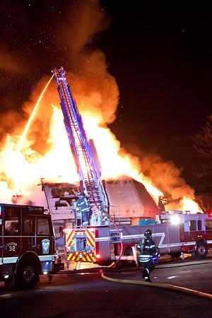 Irvington NJ 3rd alarm, 646 Nye Ave. 03-15-15
