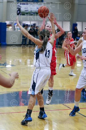 1/13/2015 Eaton JV Girls Basketball vs Platte Valley