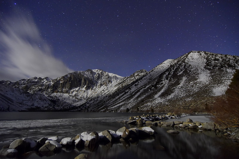 Convict Lake by Moon Light
