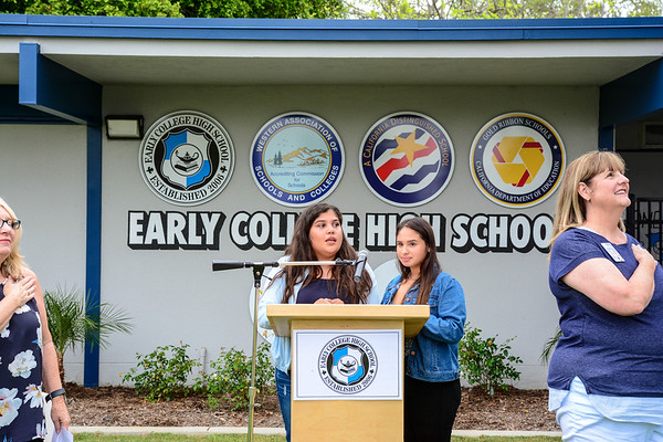 2017/18 Early College High School Ribbon-cutting Ceremony