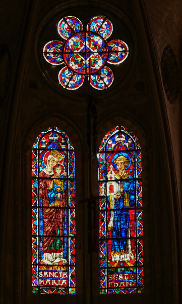 Bourges Cathedral Clerestory Windows