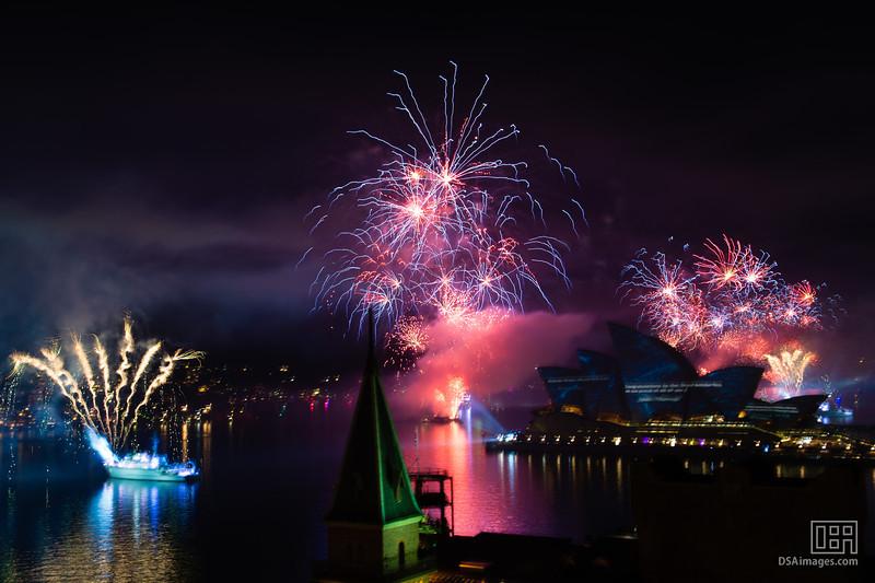 International Fleet Review Spectacular fireworks