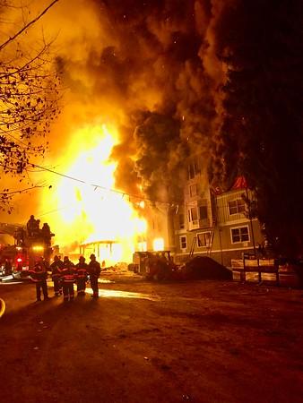 City of Peekskill, Multiple Alarm, Crompond Rd