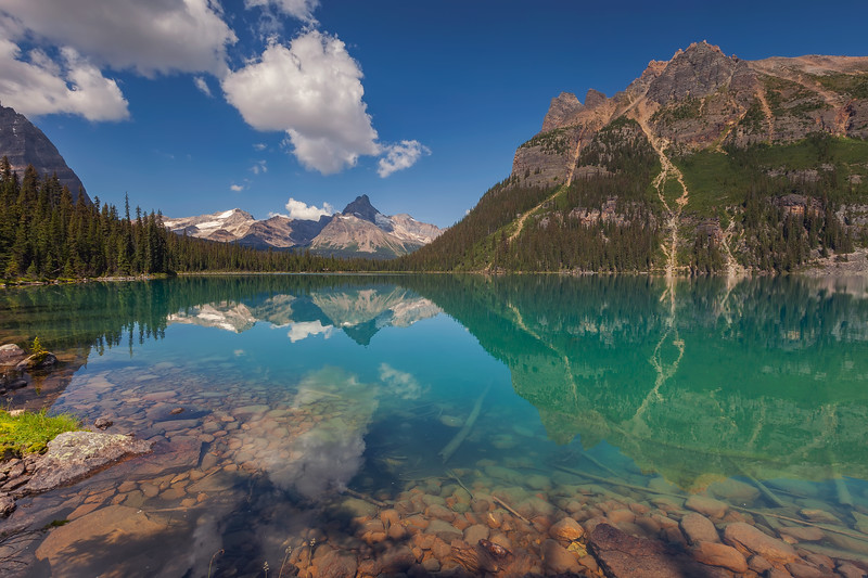 Lake O'Hara, Yoho National Park. British Columbia, Canada.