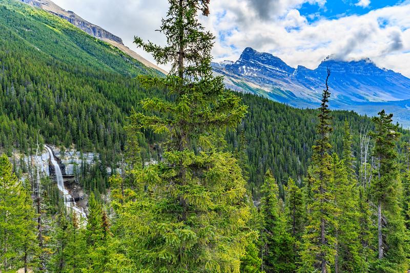 Bridal Veil Falls And Cirrus Mountain
