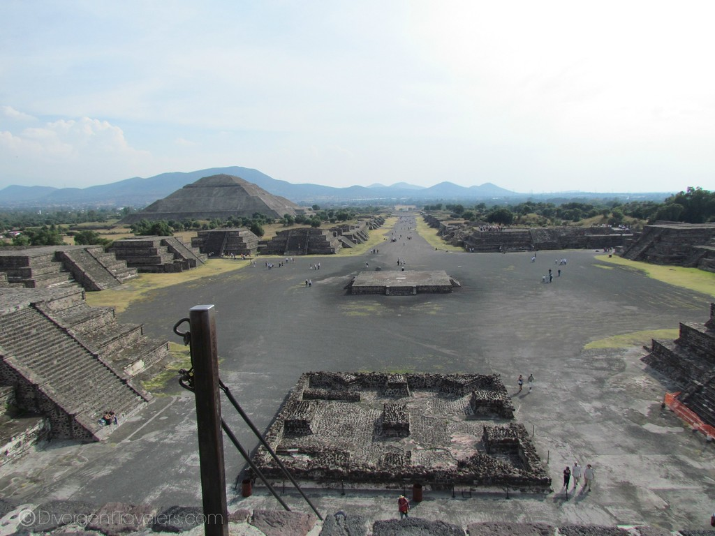 Pyramids of Teotihuacan in Mexico City