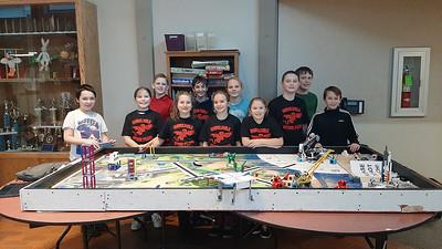 FLL Robotics Team at E WA Competition 12-7-19