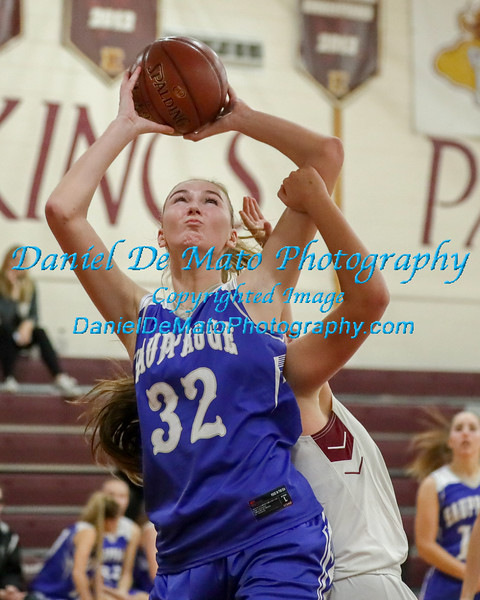 Hauppauge vs Kings Park Girls Basketball 12-11-18