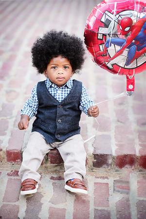 Jonathan Jr's 1 yr Portraits