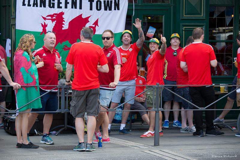 Euro 2016 Fans du Pays de Galles