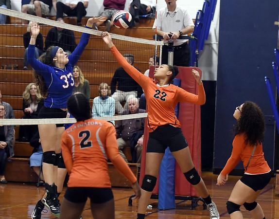 Goodwin Tech girls volleyball 10-18