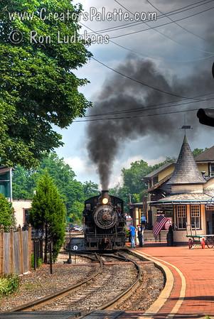 New Hope & Ivyland Railroad, Bucks County, PA