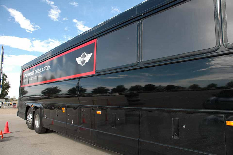 The bus is heading toward Albuquerque for the night, ending Day 4 of the MTTS road trip. See the MTTS Day 5 album.