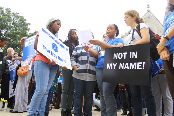 March for Troy Davis Atlanta, GA