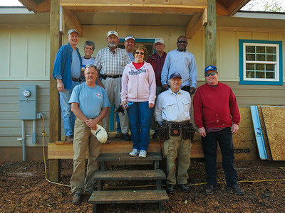 Habitat Mission Trip Fall 2014
