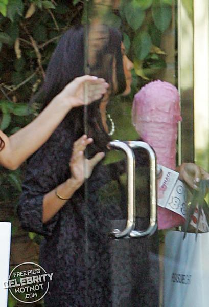 EXC: Kim And Kourtney Kardashian Visit An Adult Store in LA