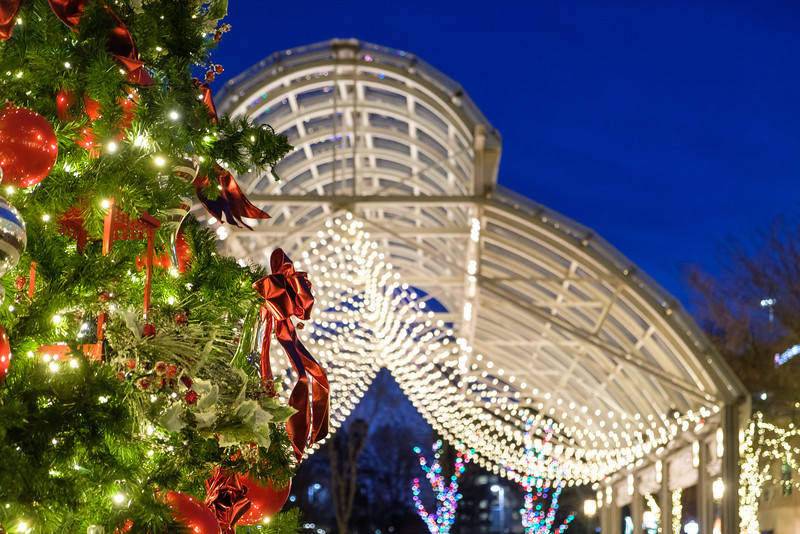 Christmastime at Reston Town Center