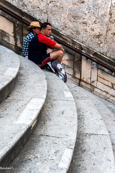 Break on steps  Dubrovnik.jpg