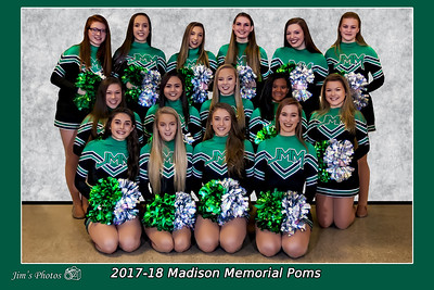 HS Sports - JMM  Poms - Jan 13, 2018