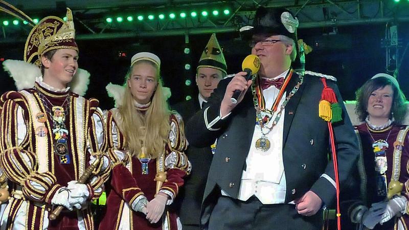 Sleuteloverdracht met Burgemeester Hubert Bruls