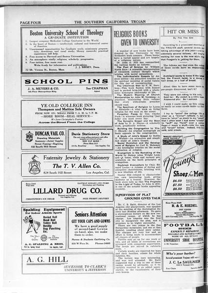 The Southern California Trojan, Vol. 11, No. 47, January 22, 1920