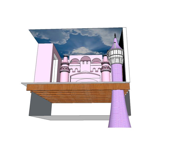 Bella's Princess Room Tower and Mural.jpg