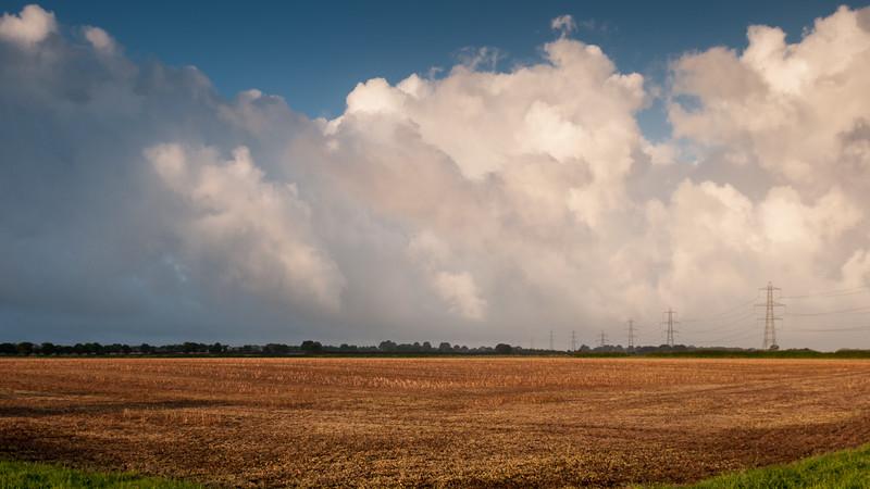 Power line panorama