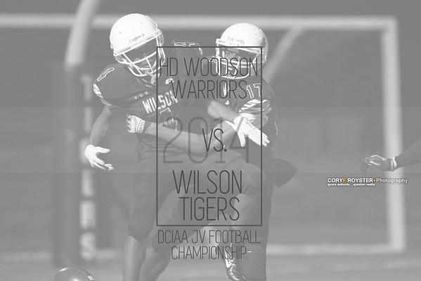 Woodson vs Wilson JV