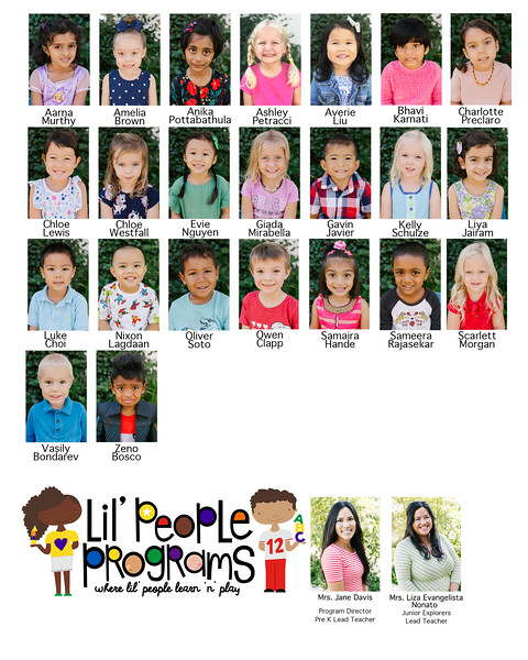 Lil People Program / Fall 2019