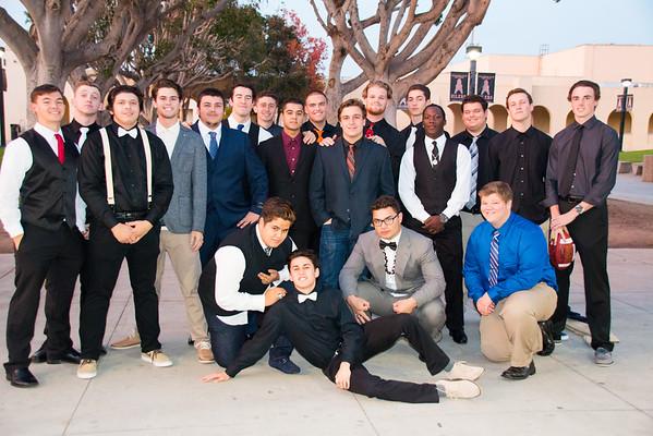 Varsity banquet 12-14-2016