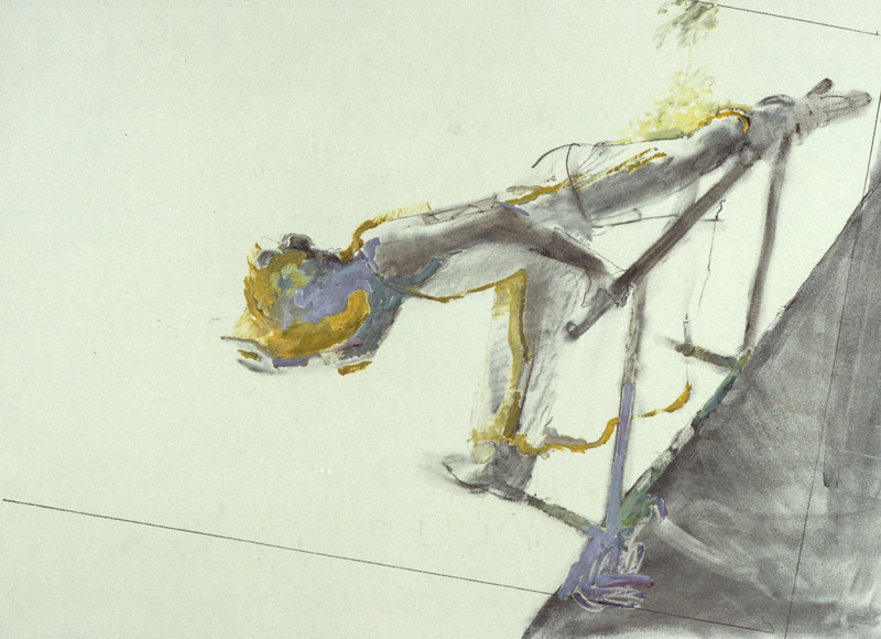 Study for 'The Yellow Room' (c1980s)
