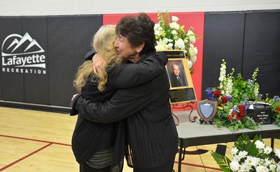 Memorial Service for Lafayette Mayor Bob Burger
