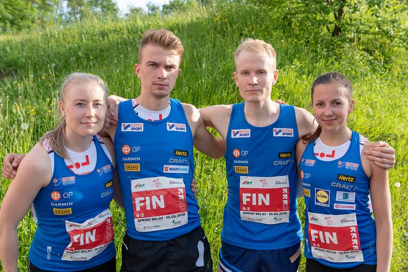 Anna Närhi, Miika Kirmula, Joni Hirvikallio, Anna Haataja
