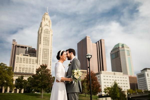 Katie + John: Micro Wedding