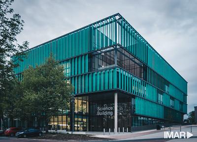 Imar Framed Expanded Mesh Panels- Uni of Herts Hatfield