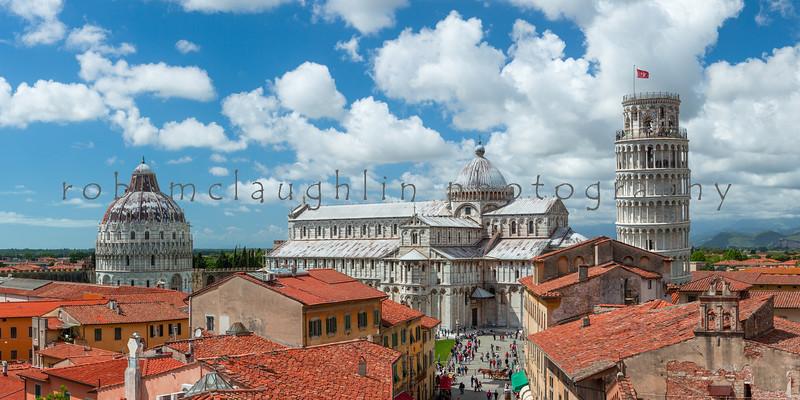 Skyline Trio , Pisa , Tuscany