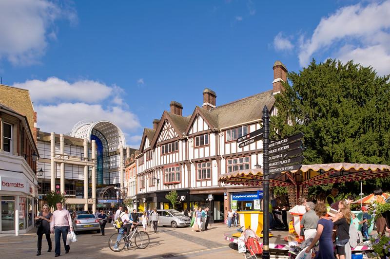 Church Street, Kingston upon Thames, Surrey, United KIngdom