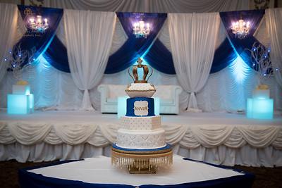 Royal Celebration Birthday Cake