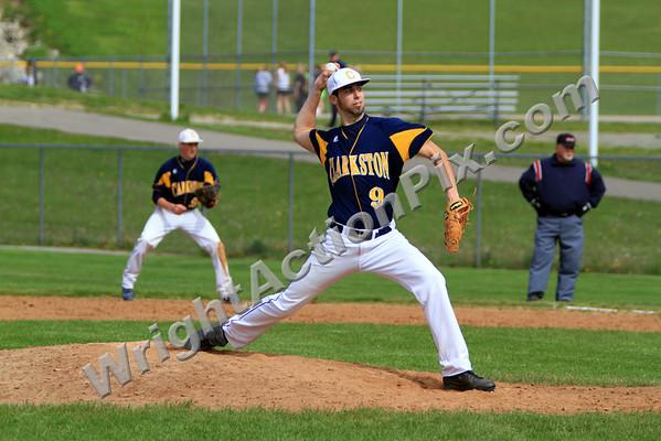 2010 05 18 Clarkston Varsity Baseball