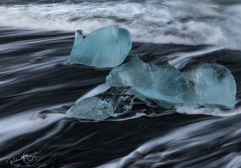 Icy Beach - Iceland