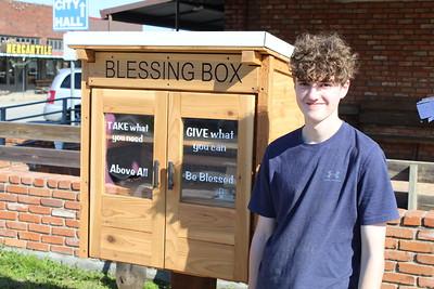 Mason Bearden's Eagle Project benefits the hungry, 2/16/2020