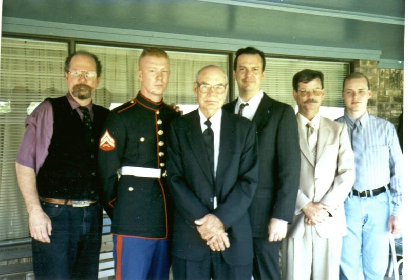 Mike, Seth, Art Sr, Art Jr, Mark, Gary