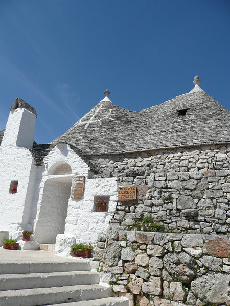 Trullo in Alberobello - Town is now a Unesco World Heritage Site