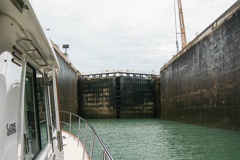 Locks are 80 ft x 766 ft
