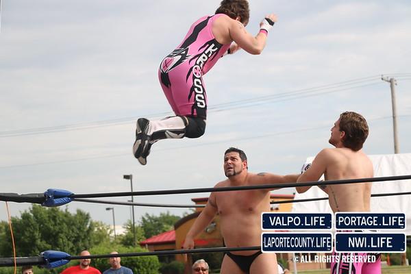 2015 Texas Roadhouse Headlock on Hunger Wrestling Event
